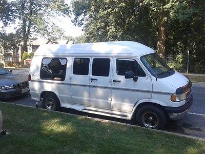 Dodge : Ram Van Mark-III 1996 dodge ram 2500 van base standard cargo van 3 door 5.2 l