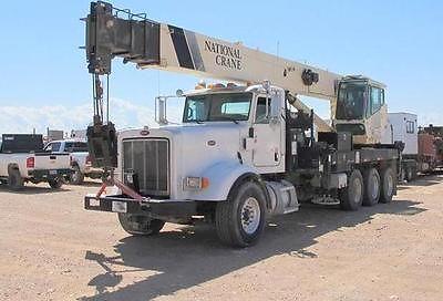 National Crane 1800 Boom Truck 2008 PETERBILT 367