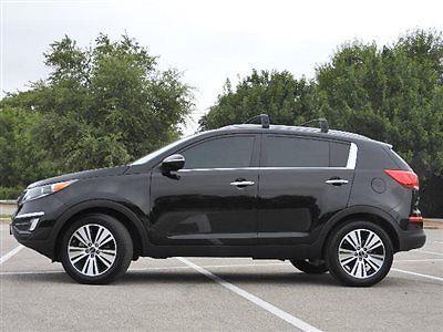 Kia : Sportage 2WD 4dr EX 2 wd 4 dr ex kia sportage ex low miles suv automatic gasoline 2.4 l 4 cyl black che