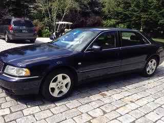 Audi : A8 Quatro  2001 audi quatro a 8 sedan