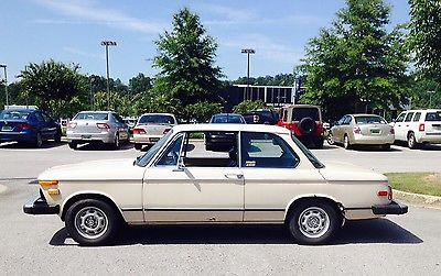 BMW : 2002 Light Tan, 2-Door, Automatic with lots of extra parts(fenders, radiator, etc)