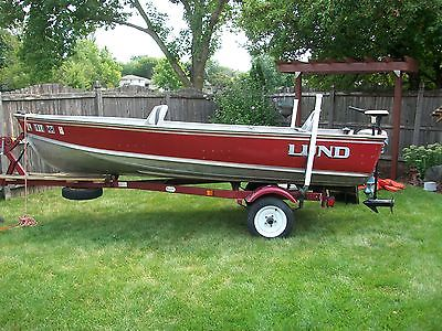 1991 Lund S14' 25 Evinrude  9.5 Evinrude Trailer & much more clean L@@K