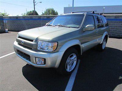 Infiniti : QX4 4dr SUV Luxury 4WD 4 dr suv luxury 4 wd suv automatic gasoline 3.5 l v 6 cyl green