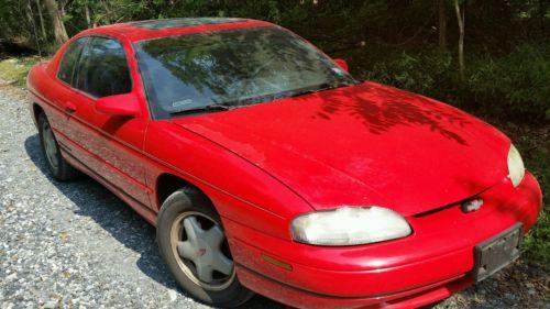 Chevrolet : Monte Carlo Z34 Coupe 2-Door Clean 1996 Monte Carlo Z34 - needs engine rebuild