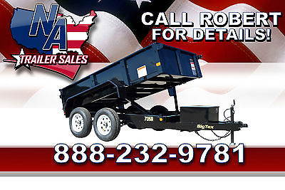 2015 Big Tex Trailers Closeout Model - 10' Dump Trailer 70SR-10-5W