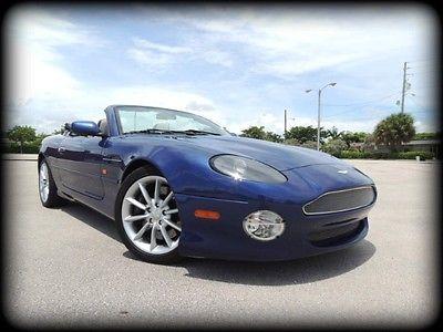 Aston Martin : Vantage Volante 2002 aston martin db 7 vantage