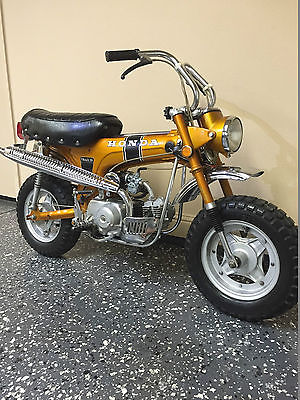 Honda : CT 1970 honda ct 70 trail 70 motorcycle 455 miles black handles and horn with books