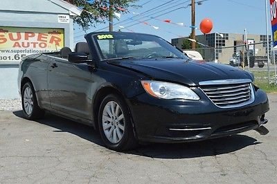 Chrysler : Other Touring Convertible 2-Door 2012 chrysler 200 touring convertible project damaged wrecked repairable salvage