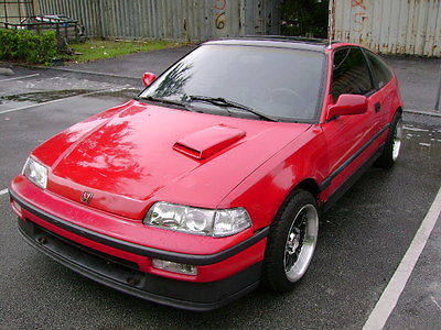Honda  CRX Si 1988 honda crx si coupe 2 door 1.6 l red & Honda Crx si cars for sale in Florida