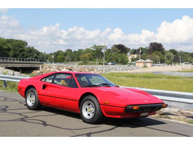 Ferrari : 308 308 GTB 1979 ferrari 308 gtb rare mechanically up to date low miles the best