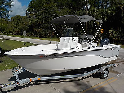 NICE 2012 SEA FOX 199 CC YAMAHA 4-STROKE INSHORE OFFSHORE FISHING BAY BOAT PRO