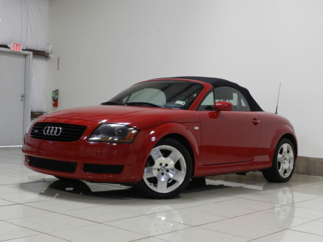 Audi : TT 2dr Roadster 2001 audi tt quattro convertible bose leather heated seat low miles must see