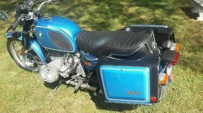 BMW : R-Series 1975 bmw r 90 6 matching numbers monza blue beauty low miles