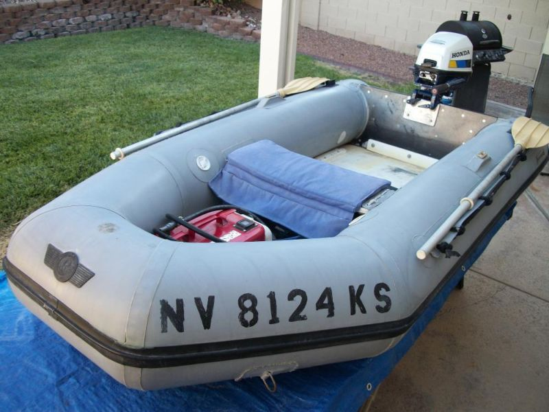 9' Halcyon Inflatable Boat