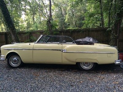 Packard : conv. Cavalier 1953 packard convertible with a rebuilt orig flathead motor like hudson