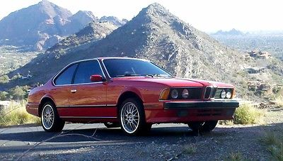BMW : 6-Series 2 DOOR COUPE 1989 bmw 635 csi original owner only 64 500 miles excellent condition