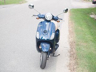 Other Makes : Vespa 2009 piaggio vespa lx 50 dark blue