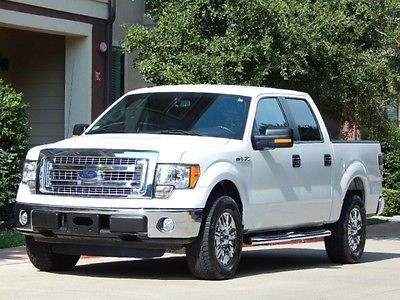 Ford : F-150 FreeShipping F-150 3.7L Flex Fuel XLT Crew Cab 30K MILES! Excellent Condition! CHROME WHEELS!