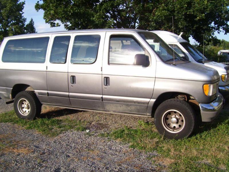 1994 Ford Club Wagon XLT  w/  wheelchair lift