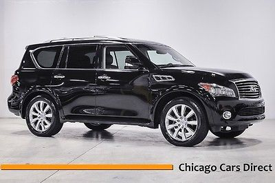 Infiniti : QX56 8-passenger 11 qx 56 4 wd rare 8 passenger seating theater package 22 wheels tire low miles