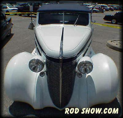 Nash : lafayette convertible RARE 1937 Nash Convertible