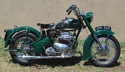 Triumph : Other 1954 ariel square four fully rebuilt by expert runs perfectly