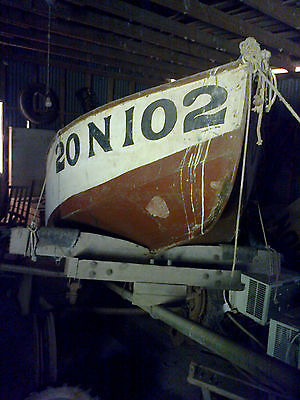 Antique Wooden Boat 1942