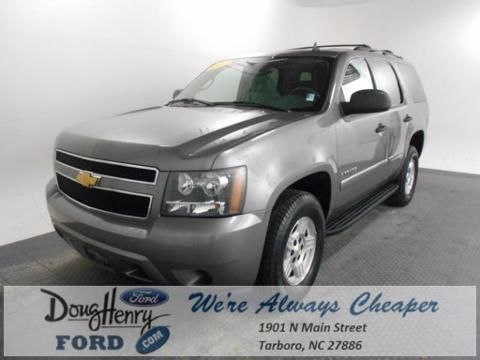 2007 CHEVROLET TAHOE 4 DOOR SUV