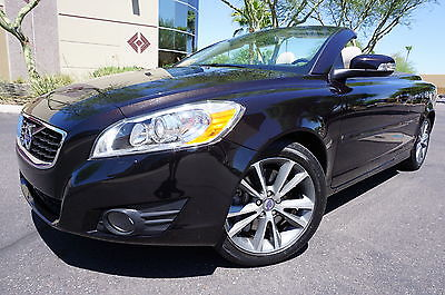 Volvo : C70 11 Volvo C70 Hardtop Convertible 1 owner clean carfax low miles serviced like 2007 2008 2009 2010 2012 2013 2014