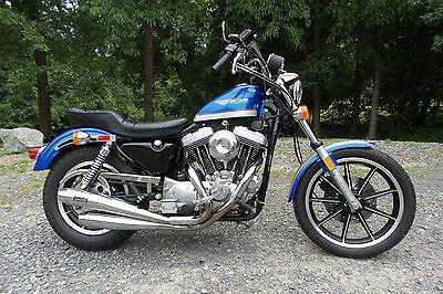 Harley-Davidson : Sportster 1987 harley davidson 1100 sportster evo motorcycle original 10 000 miles nice