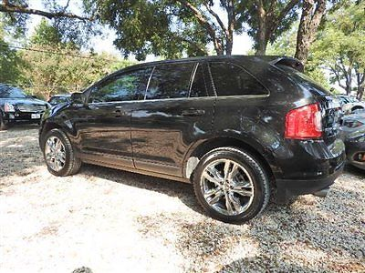 Ford : Edge 4dr Limited FWD 4 dr limited fwd low miles sedan automatic gasoline 3.5 l v 6 cyl black