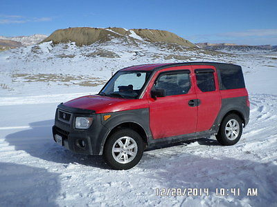 Honda : Element EX Sport Utility 4-Door New tires, Fog lights, CD Player w/amp & sub woofers, only 78k miles, moon roof