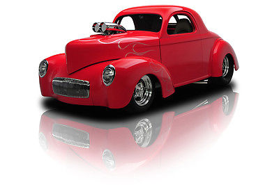 Willys : Coupe Blown Willys Outlaw Coupe 502 Dual Quad 5 Speed Manual