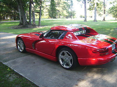Dodge : Viper RT/10 2000 dodge viper 30500 miles excellent condition clean title never abused all st