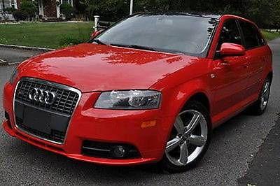 Audi : Other S-Line Hatchback 4-Door 2007 audi a 3 quattro s line hatchback 4 door 3.2 l red tan