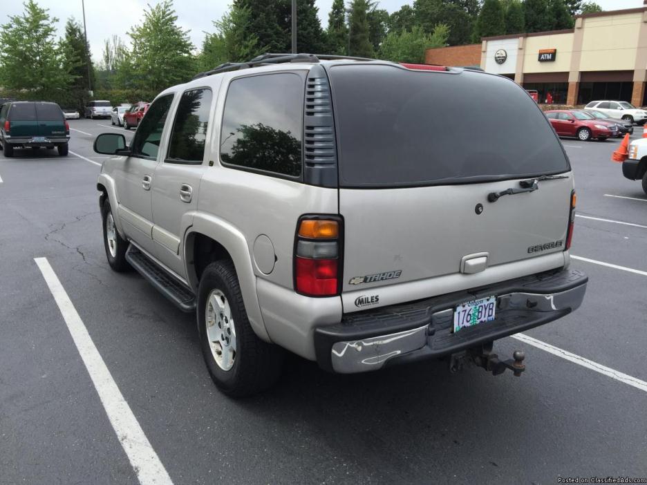 2005 Chevy Tahoe