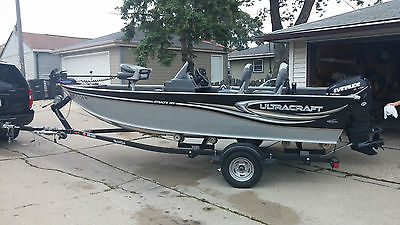 2012 UltraCraft 169C Stealth with 60HP Evinrude Etec