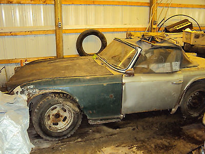 Triumph : Other 1965 triumph tr 4 classic english car parts or restore extra parts for sale too