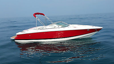 Cobalt 220 Volvo Gxi Loaded DuoProps 259hrs UnderwaterLED Custom Teak 55mph Mint