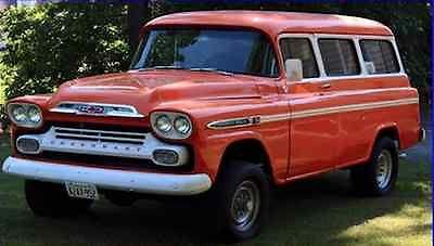 Chevrolet : Suburban 1959 chevrolet suburban