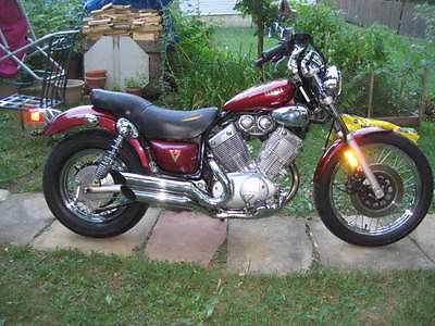 yamaha virago 535 motorcycles for sale. Black Bedroom Furniture Sets. Home Design Ideas