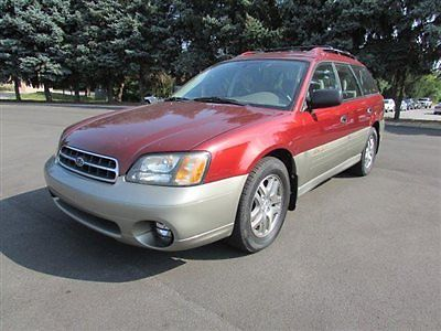 Subaru : Legacy 5dr Outback Automatic w/All Weather Pkg 5 dr outback automatic w all weather pkg 4 dr automatic gasoline 2.5 l 4 cyl red