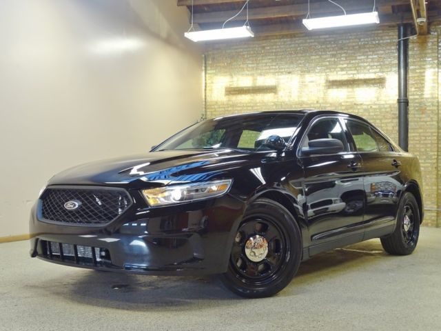 2013 ford taurus black cars for sale for Chicago motors used police cars