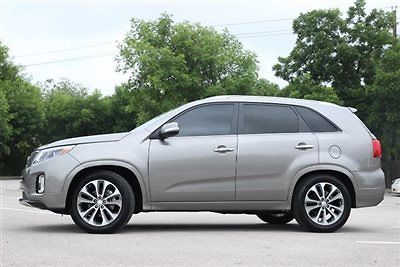 Kia : Sorento Limited; SX Limited; SX Low Miles 4 dr SUV Automatic Gasoline 3.3L V6 Cyl Platinum Graphite