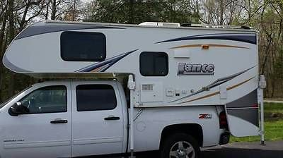 Like new, 2012 Lance 865 short bed truck camper. Excellent condition