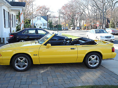 Ford : Mustang LX Convertible 2-Door 1993 mustang lx convertible ltd edition