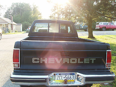 Chevrolet : S-10 2 door extend cab 1988 chevrolet s 10 base extended cab pickup 2 door 4.3 l