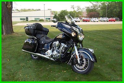 Indian : Chieftain® 2014 indian chieftain â thunder black used