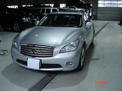 Infiniti : M 37X Silver Exterior, Black Leather Interior Like New, Premium Package,