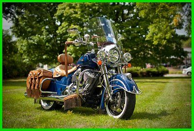 Indian : Chief 2014 indian chief vintage springfield blue used